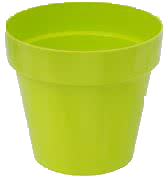 Patio Pot Modern set Lime Green