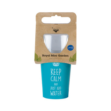 Keep Calm Royal Mini Garden